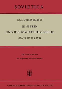 Einstein und die Sowjetphilosophie von Müller-Markus,  S.