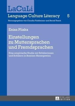 Einstellungen zu Muttersprachen und Fremdsprachen von Pliska,  Enisa