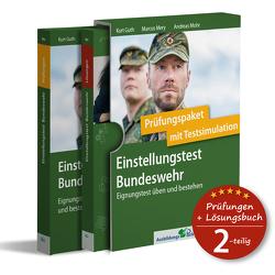 Einstellungstest Bundeswehr: Prüfungspaket mit Testsimulation von Guth,  Kurt, Mery,  Marcus, Mohr,  Andreas