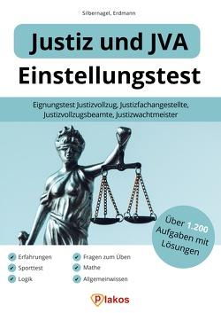 Einstellungstest Justiz und JVA von Erdmann,  Waldemar, Silbernagel,  Philipp