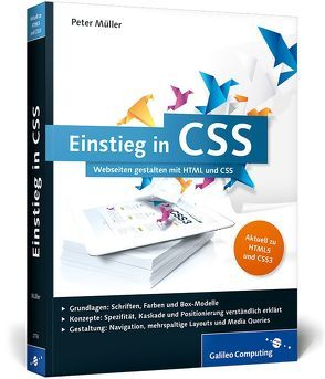 Einstieg in CSS von Müller,  Peter
