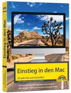 Einstieg in den Mac – aktuell zu macOS Mojave von Albrecht,  Uwe, Kusserow,  Hans-Peter