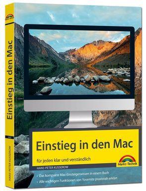 Einstieg in den Mac – für jeden klar und verständlich von Kusserow,  Hans-Peter