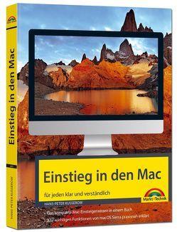 Einstieg in den MAC – klar und verständlich erklärt – aktuell zu macOS Sierra – für Einsteiger und Umsteiger von Kusserow,  Hans-Peter