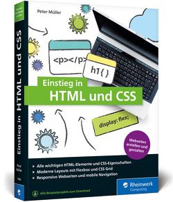 Einstieg in HTML und CSS von Müller,  Peter