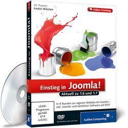 Einstieg in Joomla! von Wösten,  André