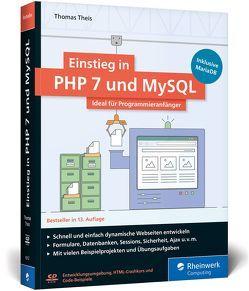 Einstieg in PHP 7 und MySQL von Theis,  Thomas