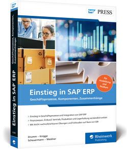 Einstieg in SAP ERP von Drumm,  Christian, Knigge,  Marlene, Scheuermann,  Bernd, Weidner,  Stefan