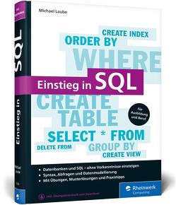 Einstieg in SQL von Laube,  Michael