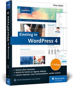 Einstieg in WordPress 4 von Müller,  Peter