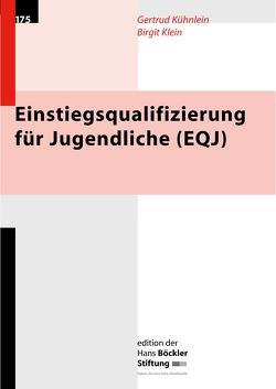 Einstiegsqualifizierung für Jugendliche (EQJ) von Klein,  Birgit, Kühnlein,  Gertrud