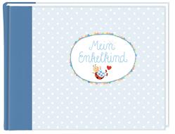 Eintragalbum – BabyGlück – Mein Enkelkind (hellblau) von Mußenbrock,  Anne