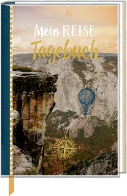 Eintragbuch mit Sammeltasche – Mein Reisetagebuch (Valley)