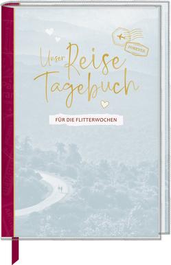 Eintragbuch mit Sammeltasche – Unser Reisetagebuch für die Flitterwochen von Dietzel,  Meike, Mußenbrock,  Anne