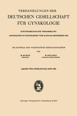 Einunddreissigste Versammlung Abgehalten zu Heidelberg vom 18. bis 22. September 1956 von Naujoks,  Hans, Rungeu,  Hans