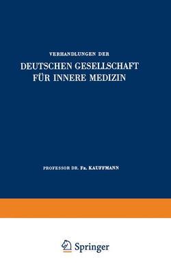 Einundsechzigster Kongress von Kauffmann,  Fr.