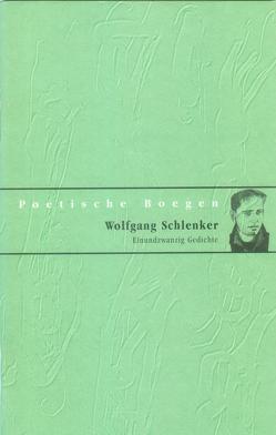 Einundzwanzig Gedichte von Anderson,  Sascha, Papenfuss,  Bert, Schlenker,  Wolfgang, Weidenbach,  Dieter