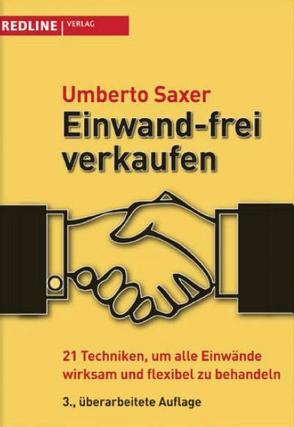 Einwand-frei verkaufen von Saxer,  Umberto