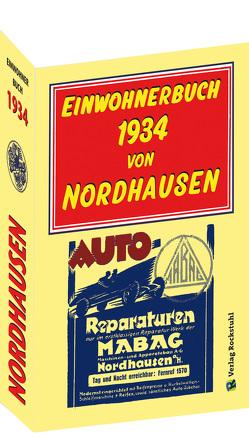 Einwohnerbuch 1934 von NORDHAUSEN Stadt