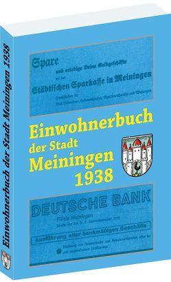 Einwohnerbuch der Stadt Meiningen 1938 von Rockstuhl,  Harald