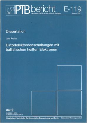 Einzelelektronenschaltungen mit ballistischen heißen Elektronen von Freise,  Lars