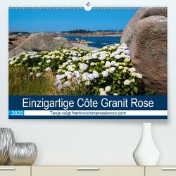 Einzigartige Côte Granit Rose (Premium, hochwertiger DIN A2 Wandkalender 2020, Kunstdruck in Hochglanz) von Voigt,  Tanja