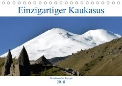 Einzigartiger Kaukasus (Tischkalender 2018 DIN A5 quer) von cycleguide,  k.A.