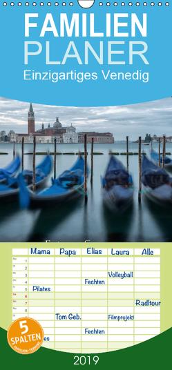 Einzigartiges Venedig – Familienplaner hoch (Wandkalender 2019 , 21 cm x 45 cm, hoch) von Stefan Bartl,  Guenter