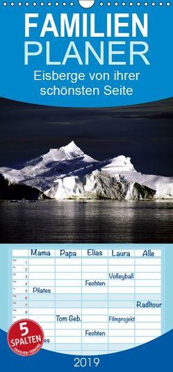 Eisberge von ihrer schönsten Seite 2019 – Familienplaner hoch (Wandkalender 2019 , 21 cm x 45 cm, hoch) von Döbler,  Christian