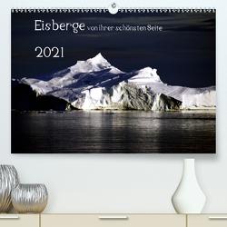 Eisberge von ihrer schönsten Seite 2021 (Premium, hochwertiger DIN A2 Wandkalender 2021, Kunstdruck in Hochglanz) von Döbler,  Christian