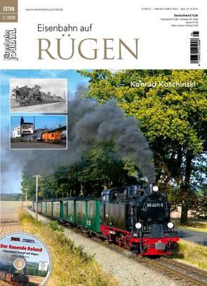 Eisenbahn auf Rügen von Koschinski,  Konrad