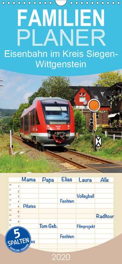 Eisenbahn im Kreis Siegen-Wittgenstein – Familienplaner hoch (Wandkalender 2020 , 21 cm x 45 cm, hoch) von Foto / Alexander Schneider,  Schneider