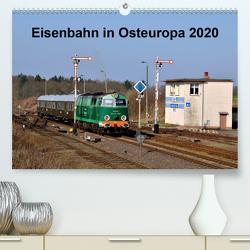 Eisenbahn Kalender 2020 – Oberlausitz und Nachbarländer (Premium, hochwertiger DIN A2 Wandkalender 2020, Kunstdruck in Hochglanz) von Heinzke,  Robert