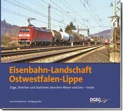 Eisenbahn-Landschaft Ostwestfalen-Lippe von Klee,  Wolfgang, Riepelmeier,  Garrelt
