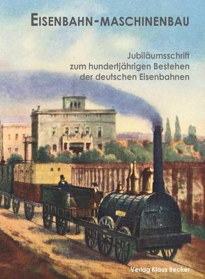Eisenbahn-Maschinenbau von Becker,  Klaus-Dieter