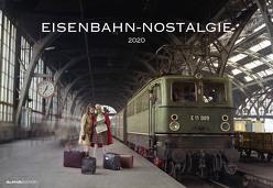 Eisenbahn-Nostalgie 2020 – Bildkalender quer (50 x 34) – Technikkalender – Lokomotive – Zug – Wandkalender von ALPHA EDITION