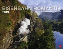 Eisenbahn Romantik – Kalender 2019 von Heye, Wagner,  Georg