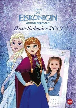 Eiskönigin Bastelkalender – Kalender 2019 von Heye