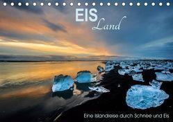 EISLand – Eine Islandreise durch Schnee und Eis (Tischkalender 2019 DIN A5 quer) von van der Wiel,  Irma
