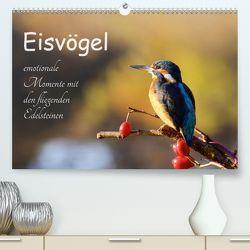 Eisvögel – emotionale Momente mit den fliegenden Edelsteinen (Premium, hochwertiger DIN A2 Wandkalender 2020, Kunstdruck in Hochglanz) von Kalanke,  Jens