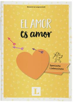 El amor es amor – Mini-Buch von Langenscheidt,  Redaktion