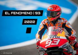 EL FENOMENO   93 – Marc Marquez – 2022 – Kalender   MotoGP DIN A3 von Wobser,  Steve