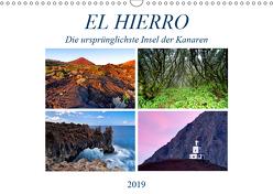 El Hierro – Die ursprünglichste Insel der Kanaren (Wandkalender 2019 DIN A3 quer) von Schaenzer,  Sandra