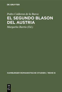 El segundo blason del Austria von Barrio,  Margarita, Calderón De La Barca,  Pedro