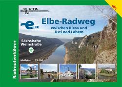 Elbe-Radweg zwischen Riesa und Ustí nad Labem – Sächsische Weinstraße