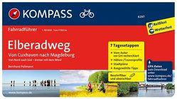 Elberadweg von Cuxhaven nach Magdeburg von Pollmann,  Bernhard