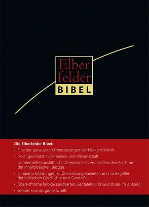 Elberfelder Bibel 2006 – Großausgabe Kunstleder mit Griffregister