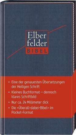 Elberfelder Bibel – Pocket Edition Kunstleder mit Reißverschluss