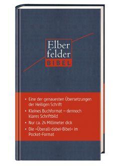 Elberfelder Bibel Pocket Edition  (Kunstler mit Reißverschluss)