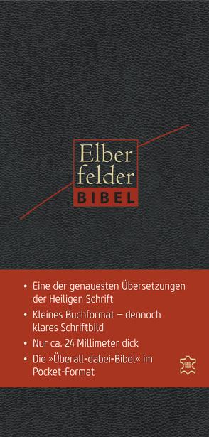 Elberfelder Bibel – Pocket Edition Leder